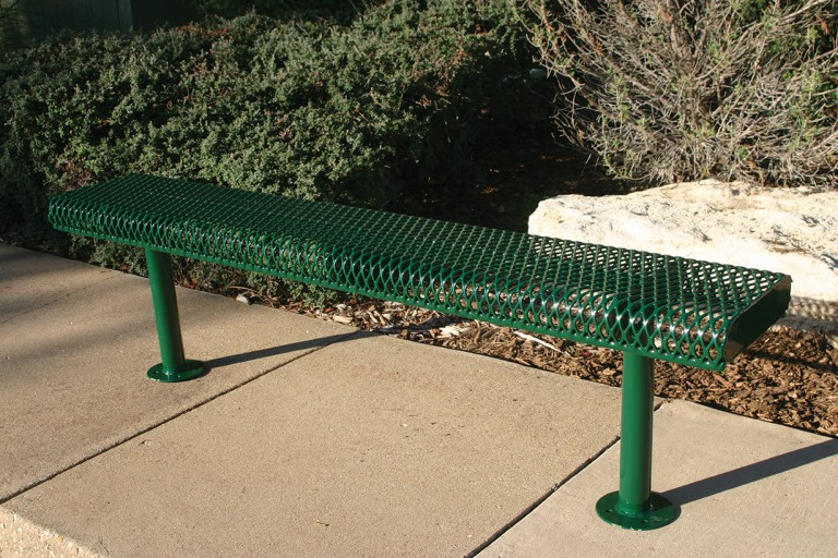 Rolled Bench Without Bench