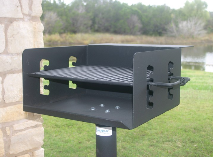 BBQ Powder Coated Grill