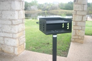 BBQ Powder Coated Grill Alternate