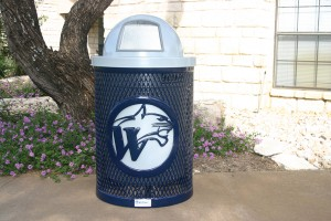 Trashbin with Custom Design