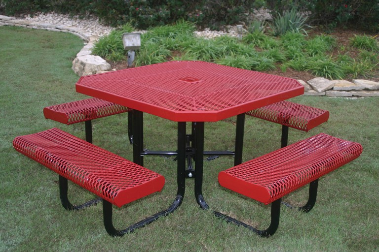 Rolled Octagon Picnic Table