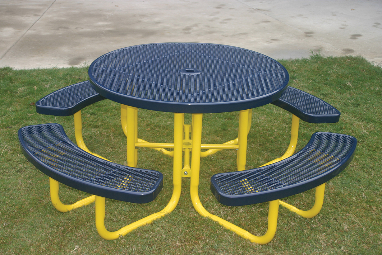 Round Portable Picnic Table