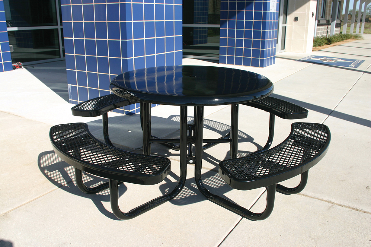 solid top portable picnic table mytcoatmytcoat. Black Bedroom Furniture Sets. Home Design Ideas