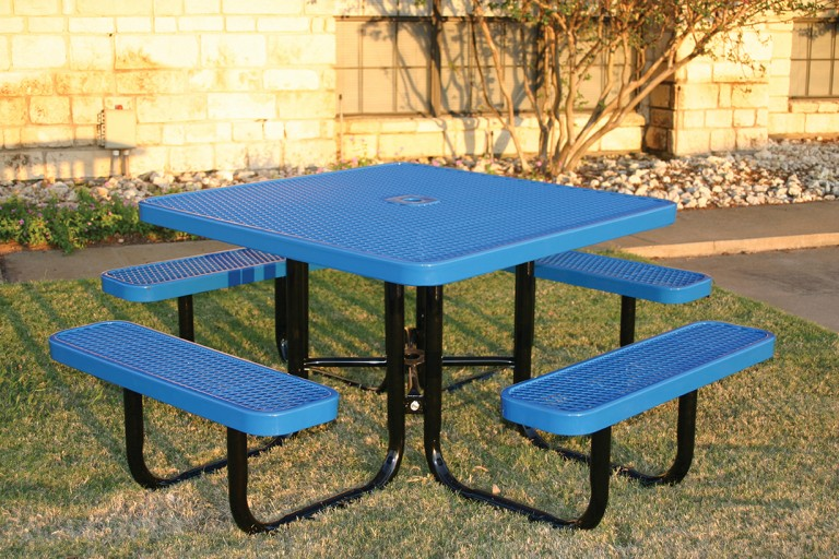 square portable picnic table